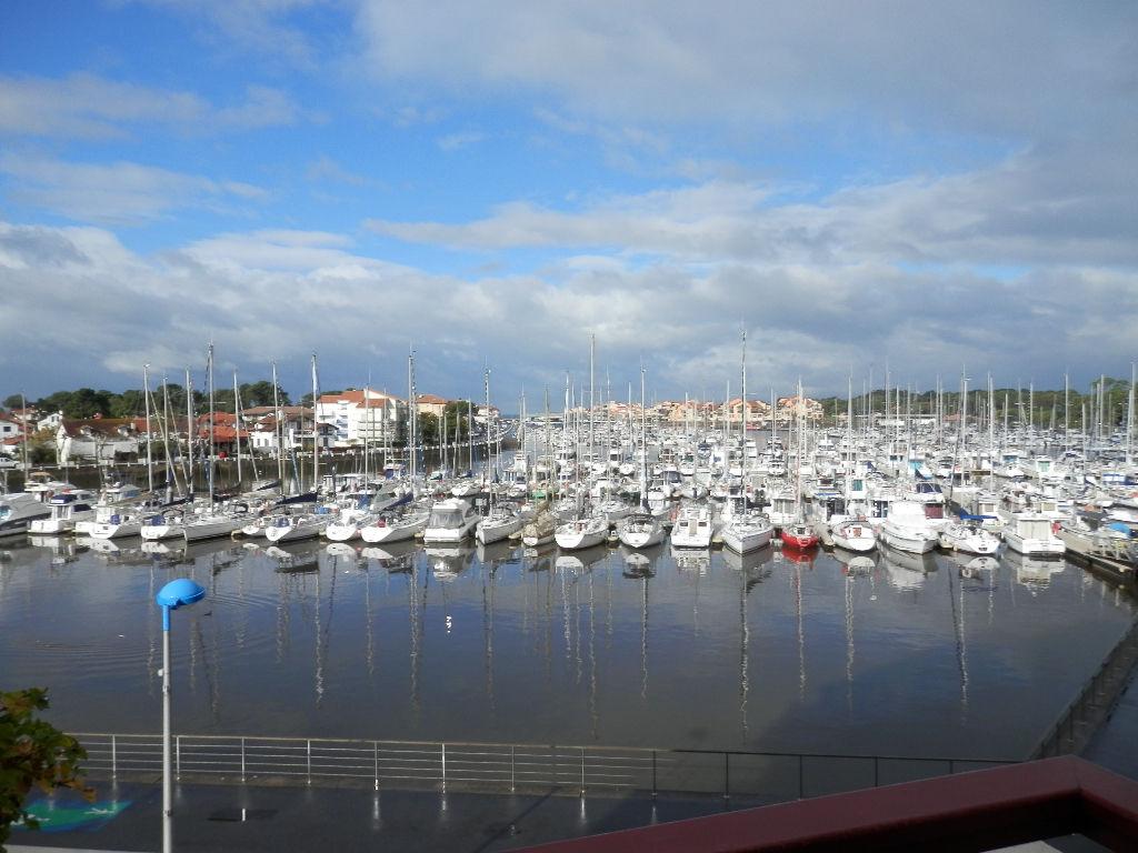 Joli T2 pleine vue port à CAPBRETON